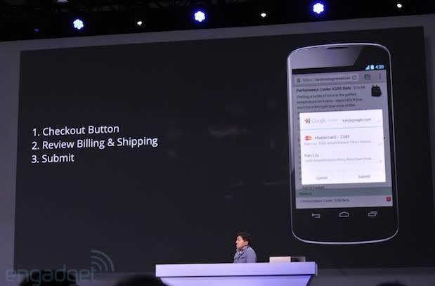 Google announces new Checkout button, one-click purchases on the go