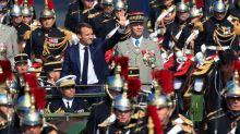 Bastille Day military parade on the Champs-Élysées in Paris
