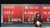 Europe shares open lower as Ukraine, China weigh