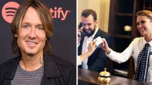 Keith Urban reveals the alias he uses in hotels
