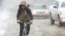 Icy bicycle rides: how to survive the wintry West Coast roads