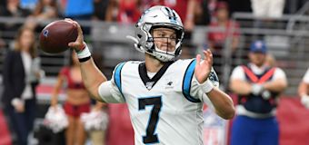Panthers' backup stuns in place of Cam Newton