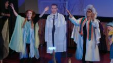 'A Wrinkle in Time' cast surprises moviegoers with a live reenactment