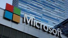 Microsoft market cap touches $1 trillion, pulls above Apple