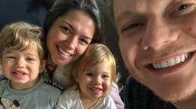 Teodoro canta sucesso do pai, Michel Teló, e anima domingo em família