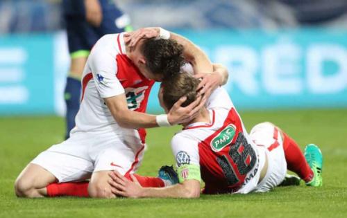 Monaco vence o Lille e chega às semifinais da Copa da França