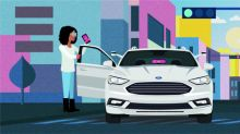 Ford to work with Lyft on self-driving cars