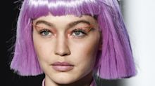 Gigi Hadid Just Wore a Hot Pink Bob at NYFW