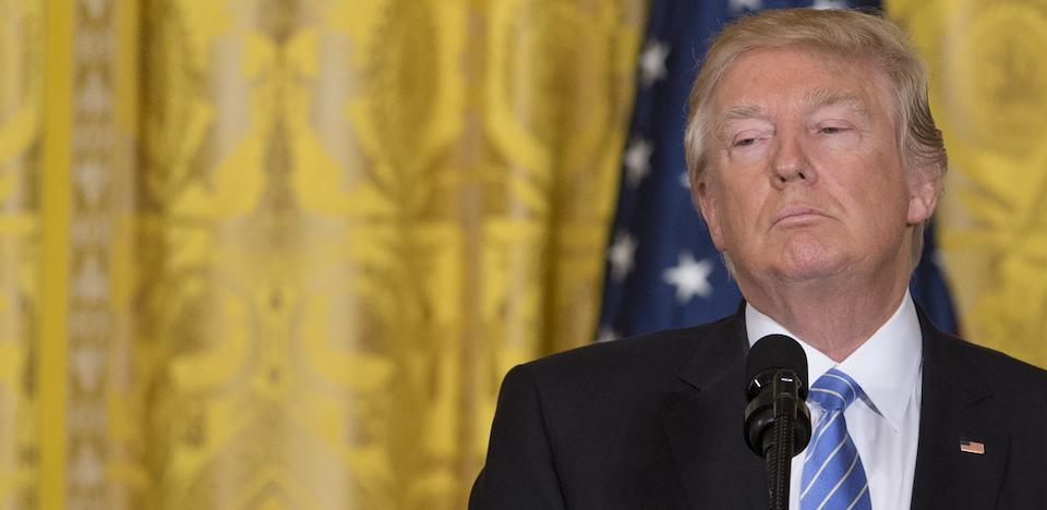 President Trump's Terrible One-Month Report Card