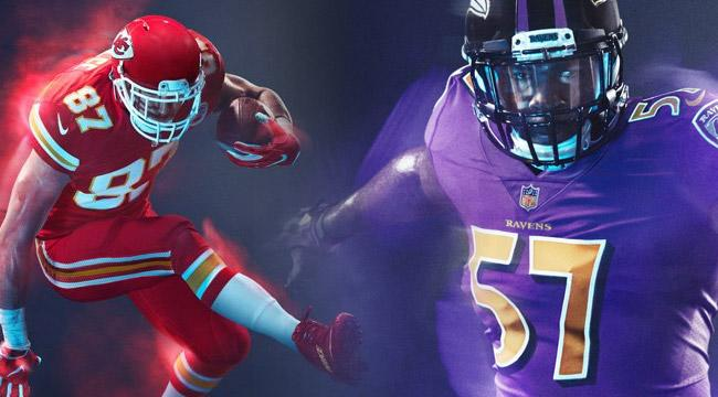 5d626e029 All Of This Season s NFL Color Rush Jerseys Ranked From Horrendous To  Beautiful
