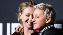 Portia de Rossi pide apoyo para su mujer Ellen DeGeneres en su peor momento