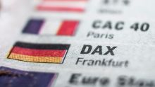DAX defended the neckline
