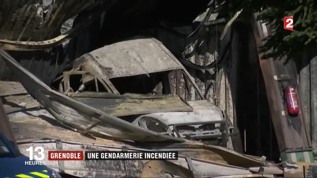Grenoble une gendarmerie incendi e for Gendarmerie interieur