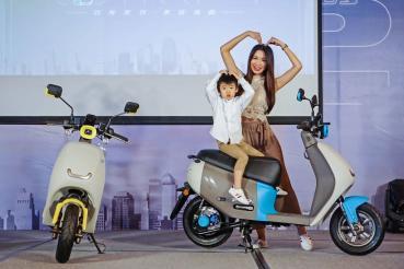 很可愛很可以!PGO Ur2 Plus綠牌電動車新上市、不含補助售價58,980元