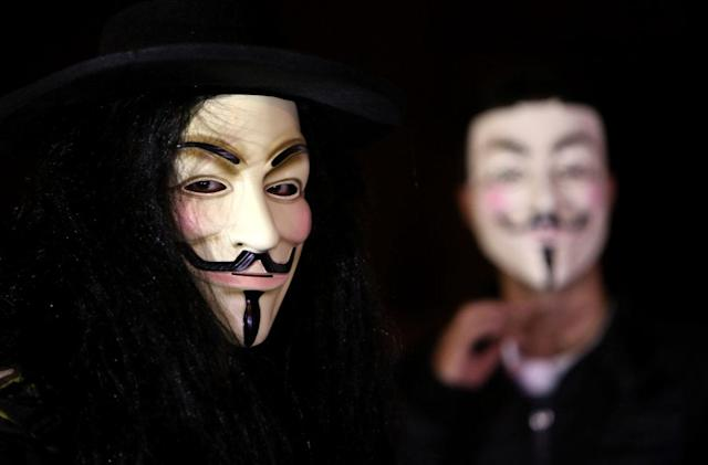 Anonymous posts the names of people it believes are KKK members