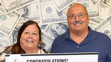 Surprise winners: Connecticut couple finds $100,000 lottery ticket hidden in their car
