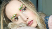 'Garden eyebrows' are spring's weirdest brow trend