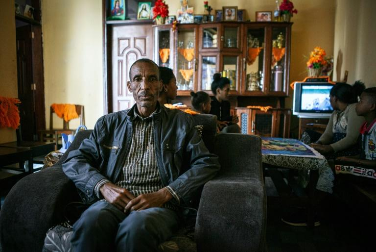Angry dad: Abiye Yefru, Birtukan's father (AFP Photo/Solan Kolli)