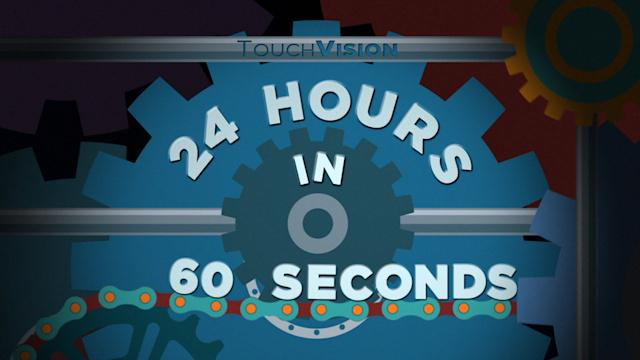 24 HOURS OF NEWS IN 60 SECONDS