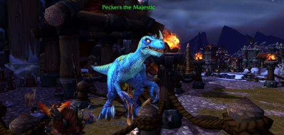 Pick up Peckers the Majestic for your garrison