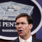 Defense Secretary Esper backed firing of carrier captain Crozier