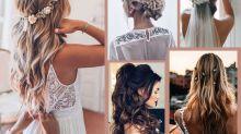 Coiffures de mariage pour cheveux longs : 100 idées pour être la plus belle des mariées