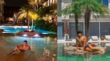 """Faro nega ostentação após foto em piscina gigante e relembra: """"Comecei com R$ 2 mil"""""""