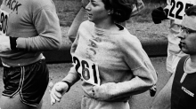 The Woman Attacked For Running A Marathon