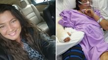 Mum clinging to life after horrific crash