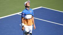 Kei Nishikori positive for COVID-19 again
