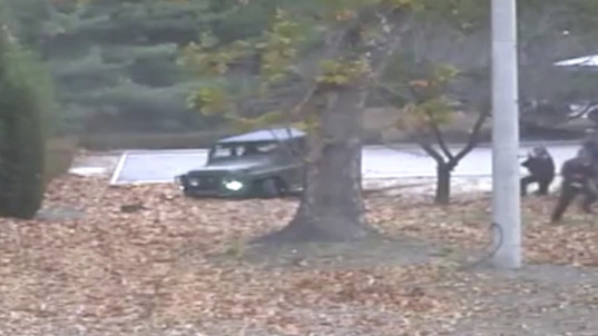 Video shows N. Korean defector's daring escape