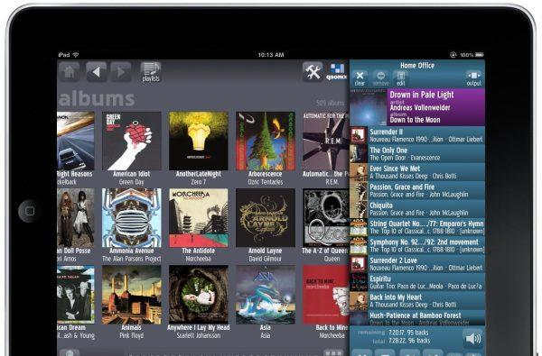 Qsonix Remote Pro for iPad app brings easier touch control to its music servers