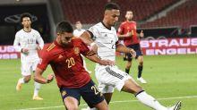 Espanha marca no último lance e empata com a Alemanha na estreia da Liga das Nações