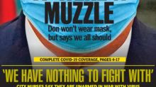 New York Daily News Muzzles Donald Trump On Silencing Front Page