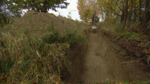 Investigators excavate area in Clarington, Ont., after tip in 55-year-old cold case