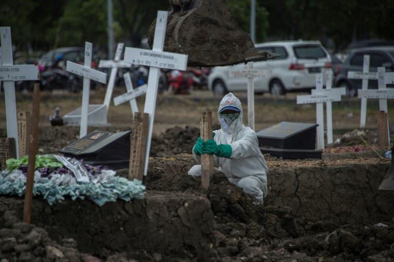 The coronavirus pandemic has battered the Indonesian economy