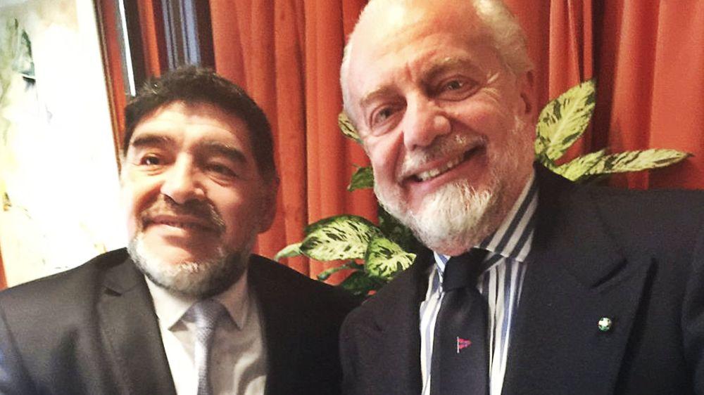 """Maradona a sorpresa: """"Se la gente lo vuole potrei allenare il Napoli"""""""