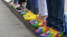 Crocs of gold: celebrity fans fuel frenzy to buy used 'ugly clogs'