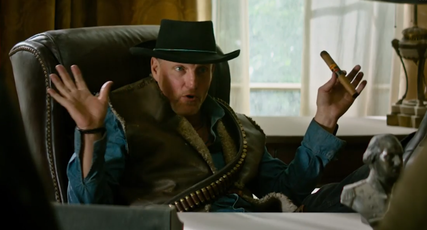 Woody for president? 'Zombieland 2' star tells us what he'd do in the Oval Office