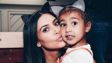 See Kim Kardashian's Sweet Birthday Tribute to North West
