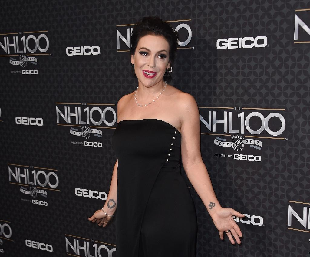 Alyssa Milano sparked an outpouring of tweets recounting painful personal accounts of sexual abuse in the wake of the Harvey Weinstein scandal (AFP Photo/CHRIS DELMAS)