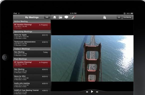 First look: Fuze Meeting extends remote presentation mojo to iPad