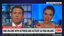 Alyssa Milano on Bill Clinton: 'We probably should have investigated the allegations'