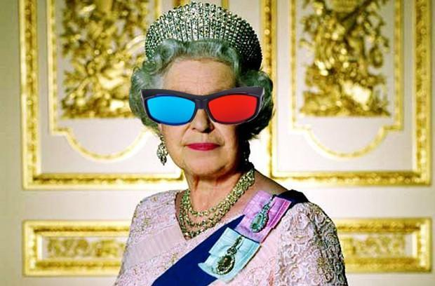 Queen's Christmas Message to reportedly air in 3D, project the royal presence further (update: not entirely first)