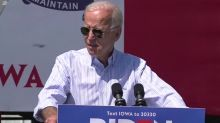 Joe Biden and President Trump debate worthiness for office