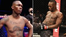 Israel Adesanya slams conspiracy theory about saggy pec