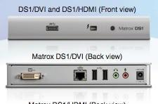 Matrox DS1 Thunderbolt docking station now shipping