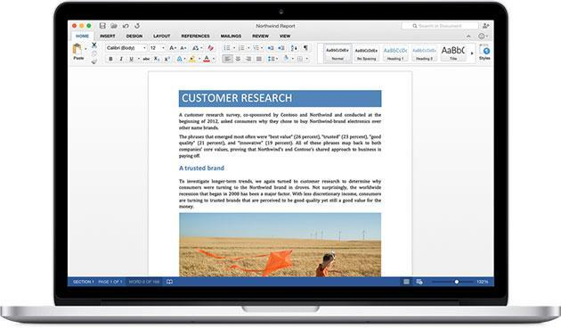 The Office 2016 for Mac preview is now available