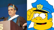 Hank Azaria Brings Out Simpsons Characters For Superb Student Graduation Speech
