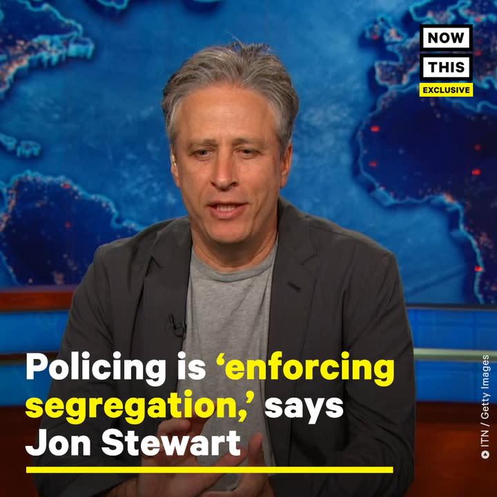 Jon Stewart: Racist Institutions Do Not Dismantle
